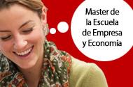 Másteres de la Escuela de Empresa y Economía