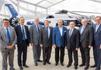 Foto de la firma entre Airbus y la UC3M