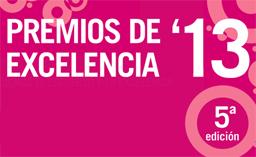 cartel premios de excelencia 2013